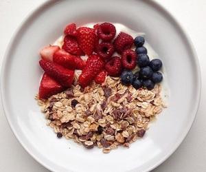 breakfast, healthy, and yogurt image