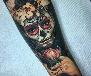 inked, ink, and tattoo image