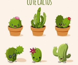 cactus and garden image
