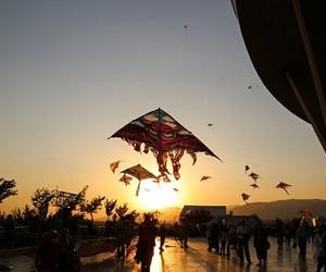 kites, travel, and nature image