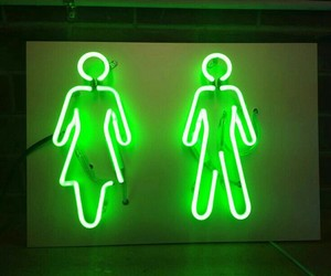 green and neon image