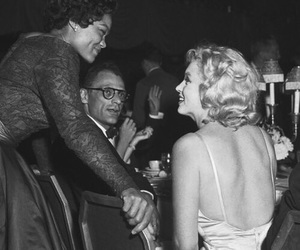Marilyn Monroe and eartha kitt image