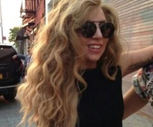 Lady gaga, gaga, and hair image
