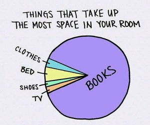 book, more books, and room image