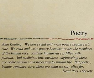 poetry, dead poets society, and life image