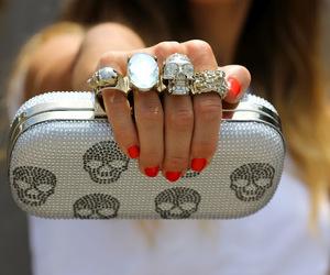 bag, girl, and pretty image