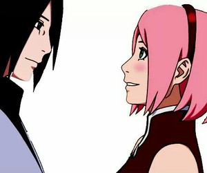 kawaii, naruto, and sasusaku image