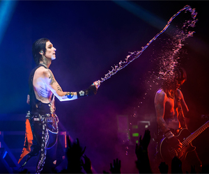 bottle, concert, and water image