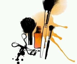 iphone, makeup, and wallpaper image