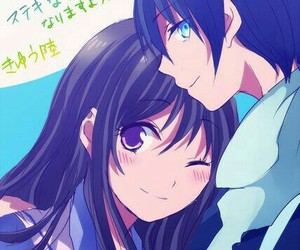 fan art, anime couple, and yato image