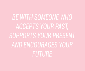 pink, quote, and relationships image