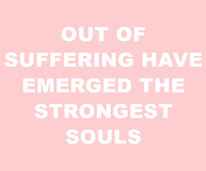 pink, quote, and recovery image