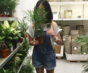 plants, girl, and aesthetic image
