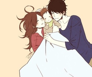 family, love, and anime image