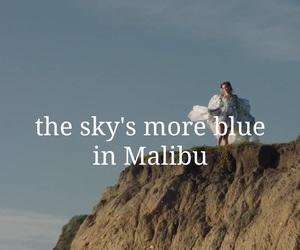Lyrics, malibu, and miley cyrus image