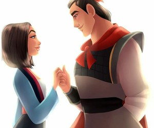 disney, mulan, and princess image