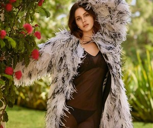 lana del rey, ️lana del rey, and flowers image