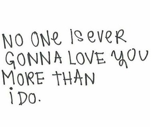love, quotes, and no one image