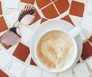 cappuccino, indie, and coffee image