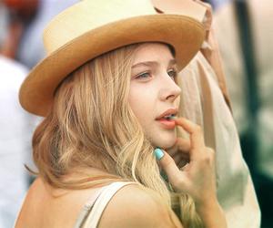 girl, chloe moretz, and hat image