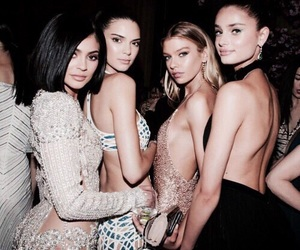 kylie jenner, kendall jenner, and model image