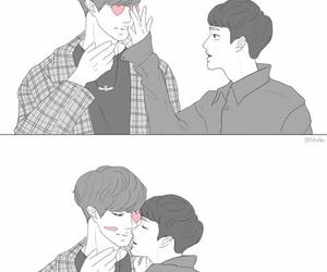 exo, kpop, and chansoo image