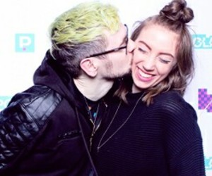 couple, youtube, and jacksepticeye image
