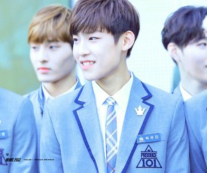 woojin, produce 101, and park image