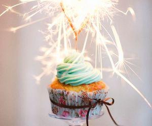 cupcake, food, and birthday image