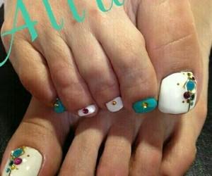 fashion, nails, and woman image