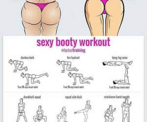 booty, butt, and exercise image