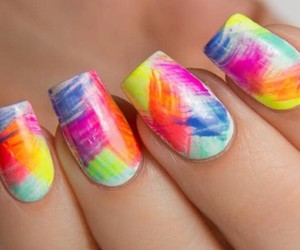 colorful, fashion, and manicure image