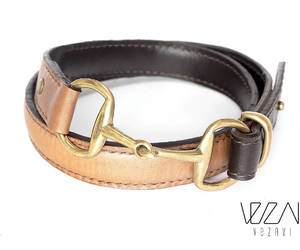 equestrian, snaffle bit, and horsericing style belt image