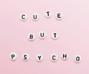 pink, cute, and Psycho image