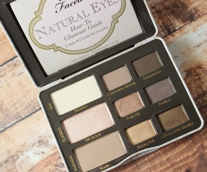 palette, too faced, and natural eyes image