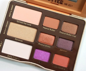 palette, peanut butter and jelly, and too faced image
