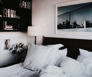 interior, bed, and design image