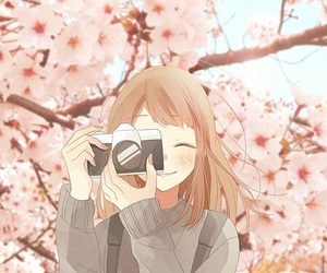 camera and anime foto image