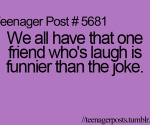 funny, laugh, and friends image