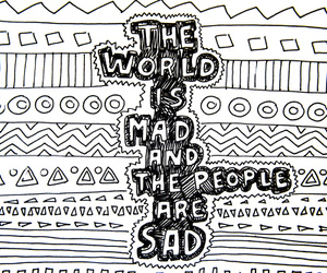 sad, people, and world image