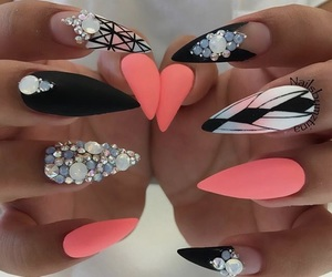 art, cool, and nails image