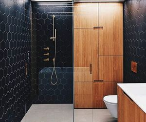 bathroom, decoration, and modern image