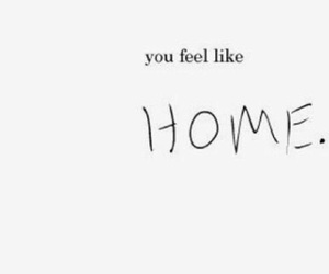 feel, home, and quotes image