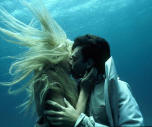 love, kiss, and splash image