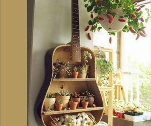guitar and home image