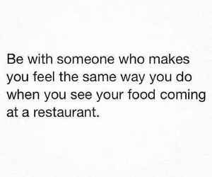 quote, couple, and food image