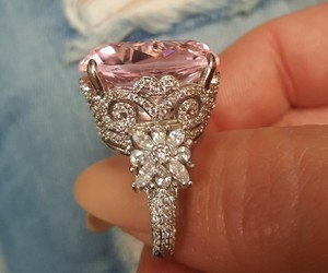 bling, cheap, and ring image
