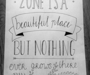 handlettering, handwriting, and quote image