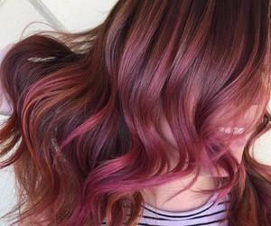 fashion, hair, and purple image