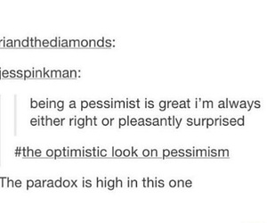 great, optimistic, and Paradox image